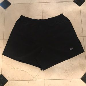 Women's Black Patagonia 5'' Baggies